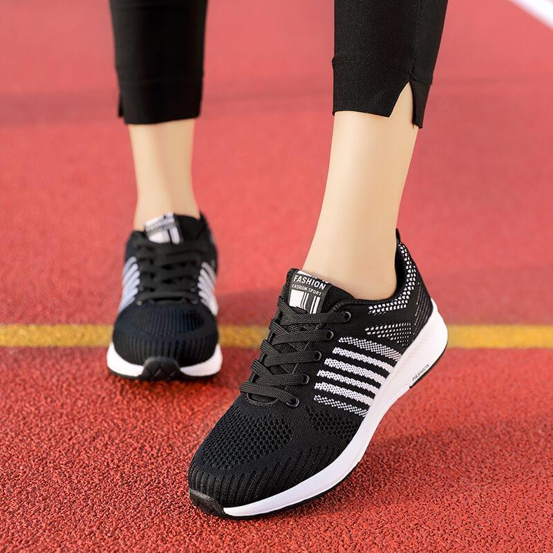 Semi dan musim panas sepatu wanita Gaya Korea netral Tren sepatu olahraga  Permukaan bernafas sepatu kasual 1ffd72f067
