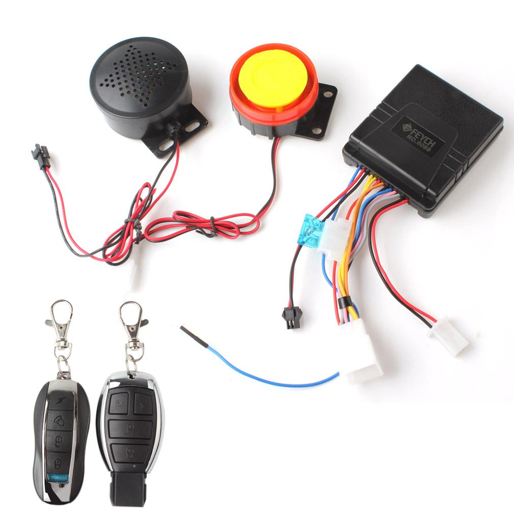 Buying Motorcycle Motorbike Scooter Anti Theft Security Remote Voice Alarm Mtf04
