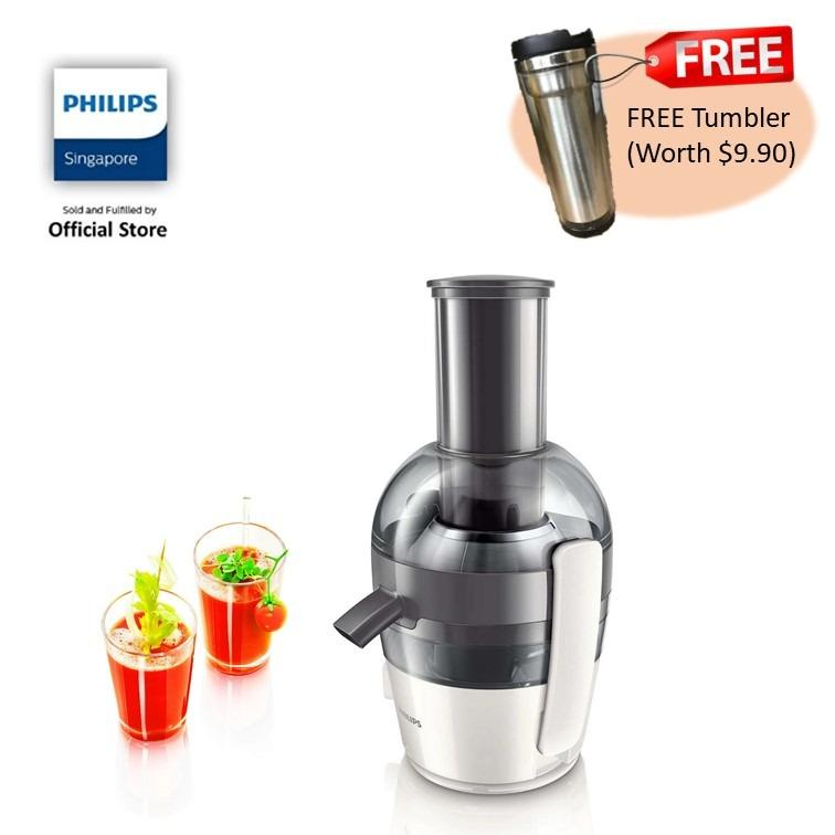 Price Free Tumbler With Philips Viva Collection Juicer Hr1855 On Singapore