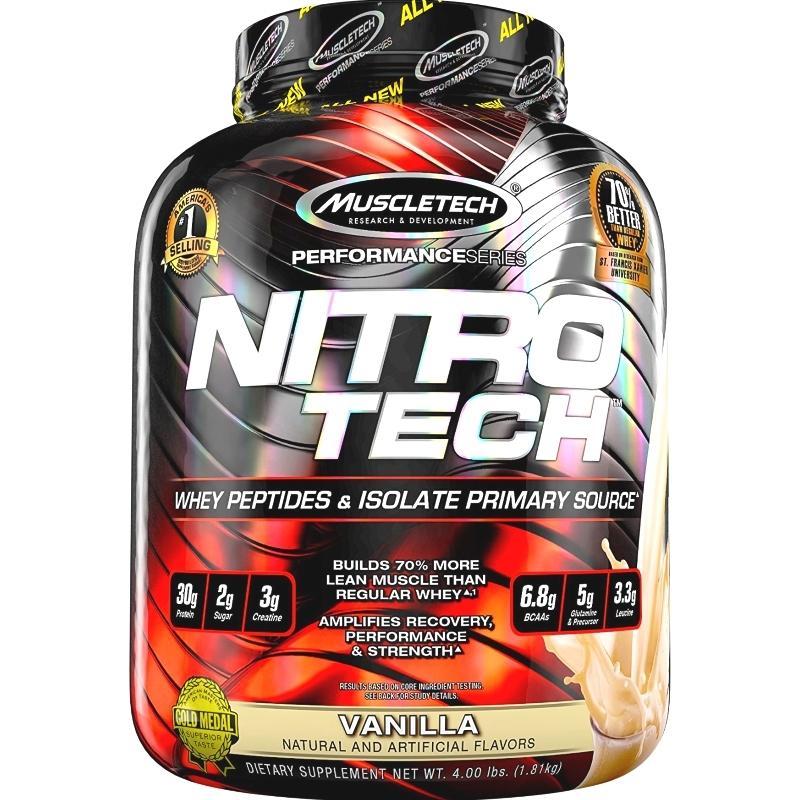 Price Comparison For Muscletech Nitro Tech 4Lbs Vanilla