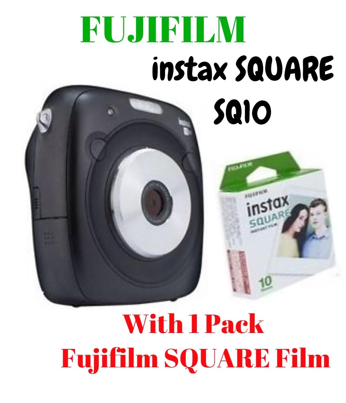 How Do I Get Free Instax Square Film 1 Pack With Fujifilm Instax Square Sq10