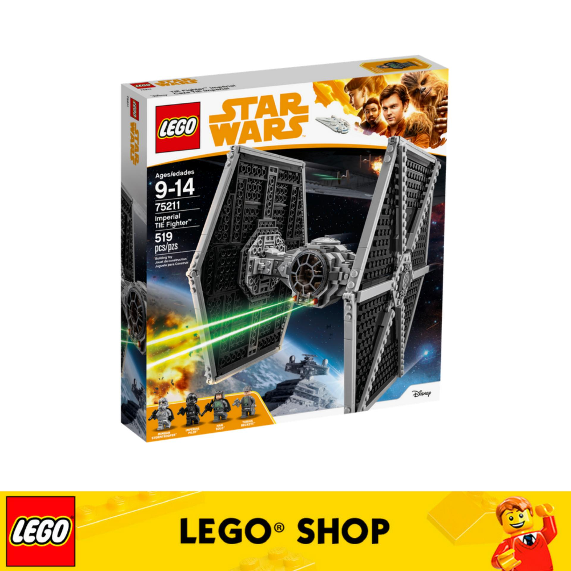 Review Lego® Star Wars Tm Imperial Tie Fighter™ 75211 Singapore