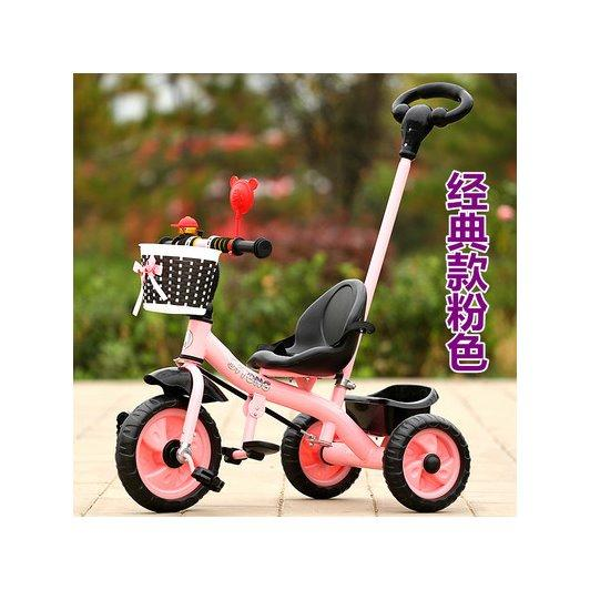 Price Rc Baby Kids 4 In 1 Lightweight Fashion Colored Outdoor Pushing Trike Children Family Tricycle Ride Learn Kids Bikes Rc Baby Kids New
