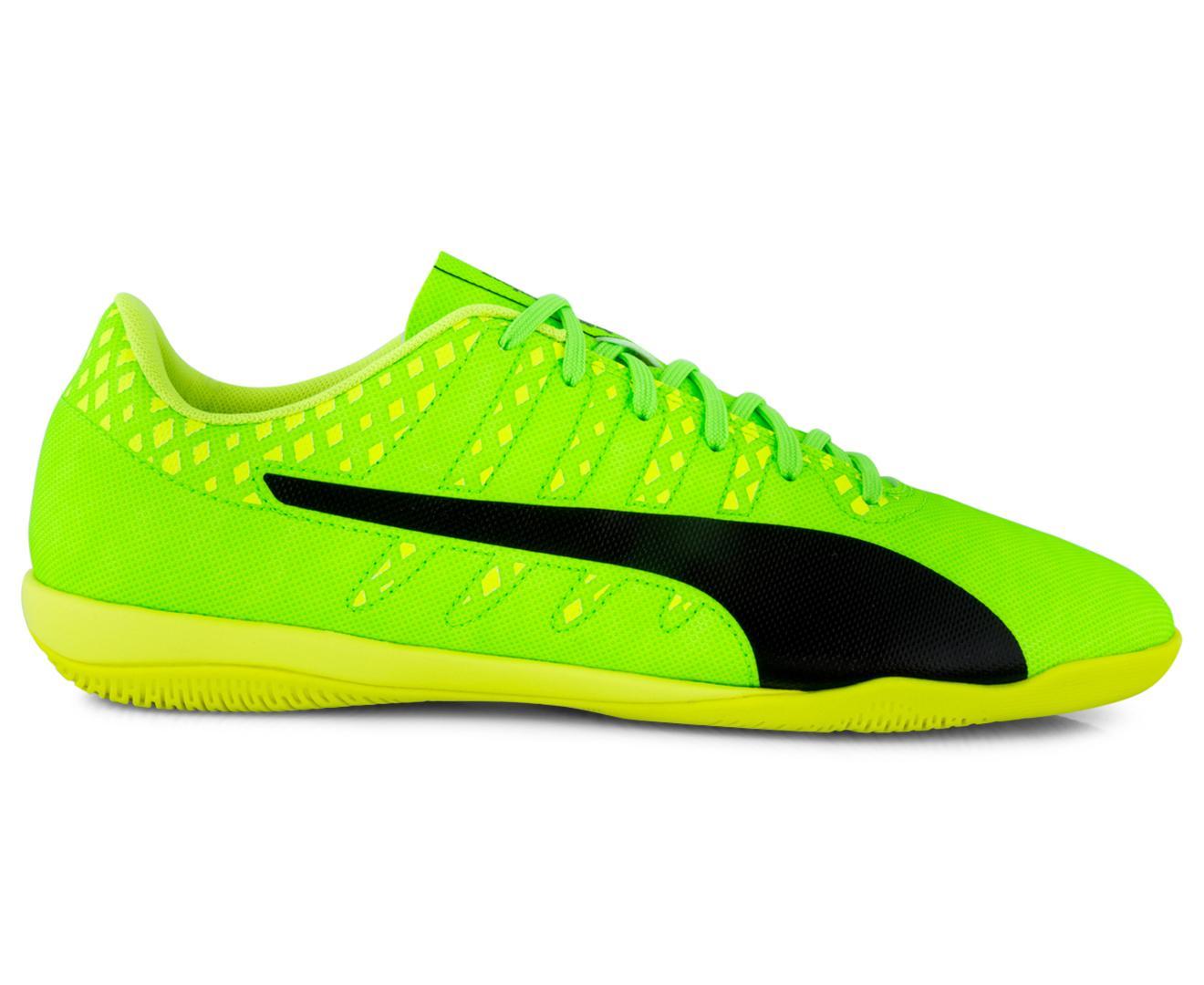 Coupon Puma Men S Evopower Vigor 4 It Indoor Football Shoe Green Black Yellow Intl
