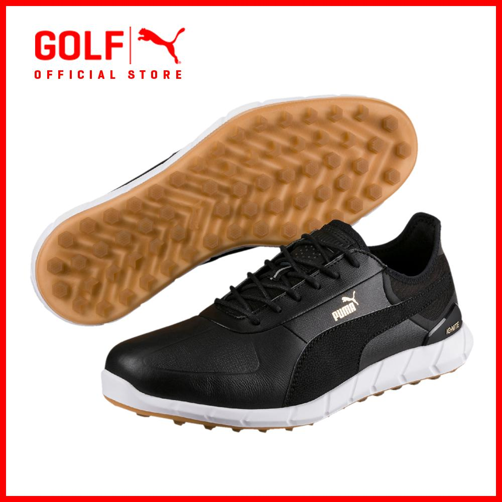 Discount Puma Golf Men Ignite Spikeless Lux Footwear Footwear Puma Black Puma Golf