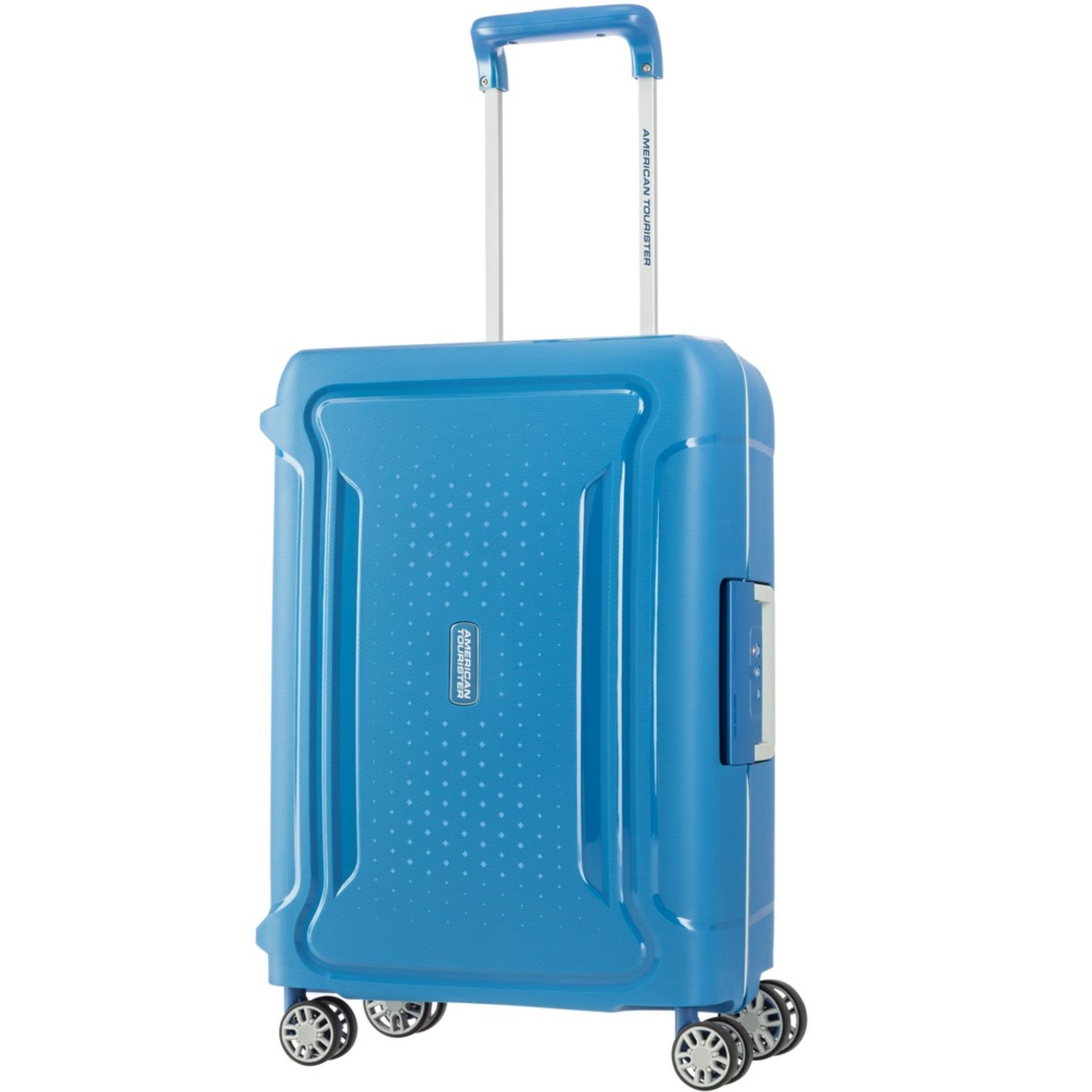 Best Rated American Tourister Tribus Spinner 55 20 Turquoise