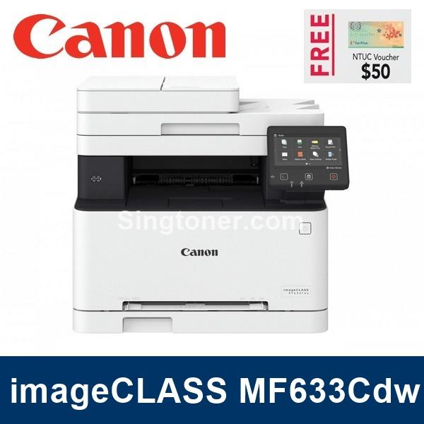 Promotion Canon Imageclass Mf633Cdw Versatile 3 In 1 Colour Multifunction Printer For The Modern Business Mf633 Best Buy