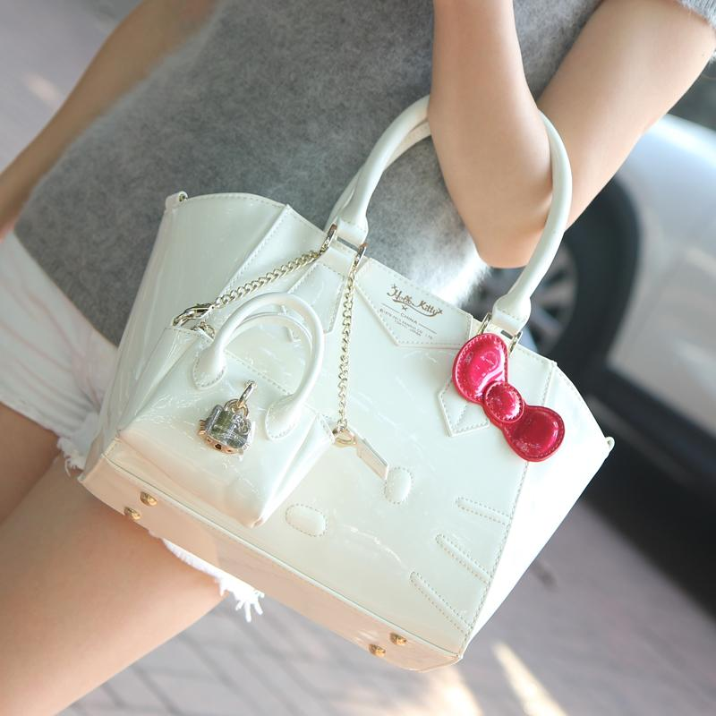 2018 New Products Hello Kitty One-Shoulder Handbag hello kitty Cross-body  women bag 45d7740219
