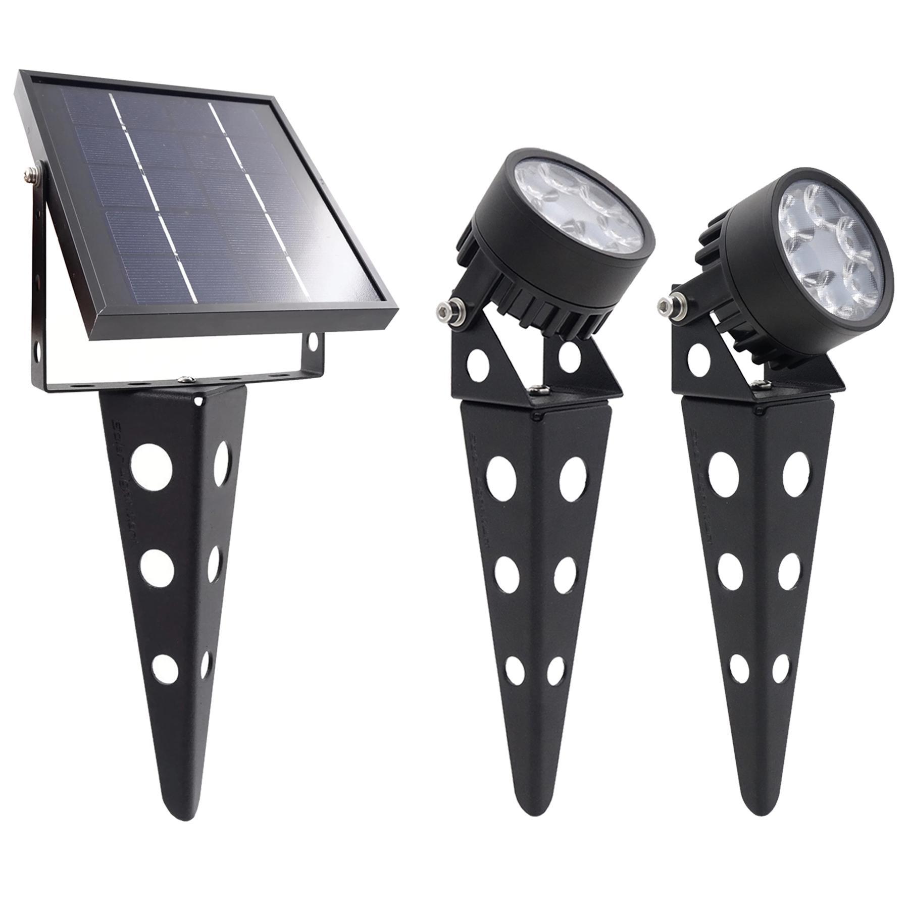 Mini 50X 3.0 Twin Solar Spotlight Set