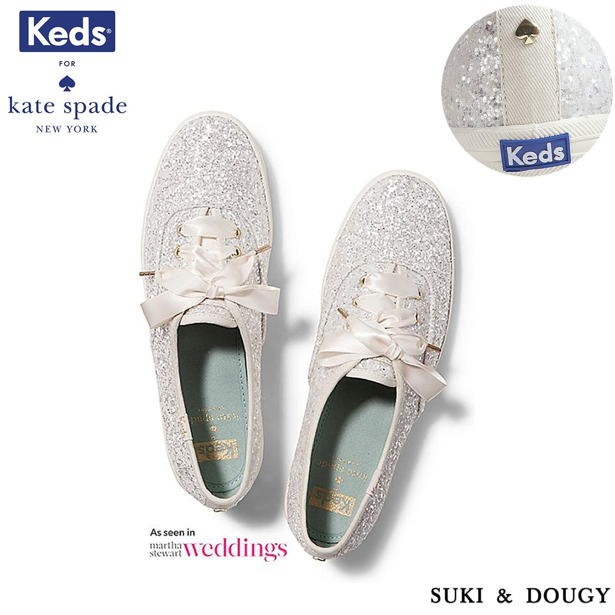 357cf5050f635  KEDS X Kate Spade New York  100% AUTHENTIC CHAMPION GLITTER WEDDING SHOES