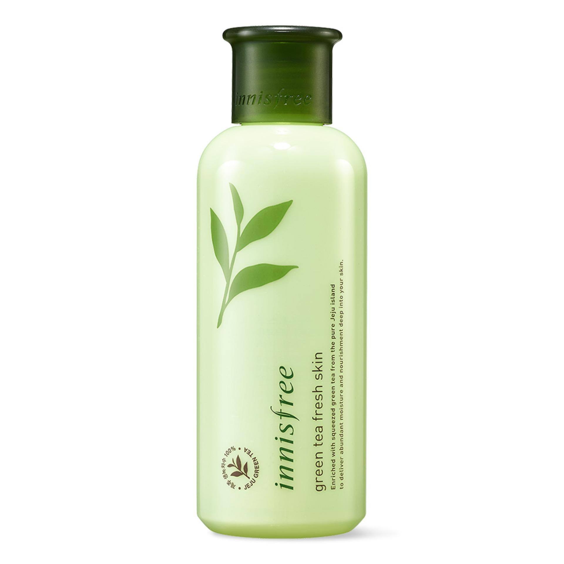 Lowest Price Innisfree Green Tea Fresh Skin 200Ml