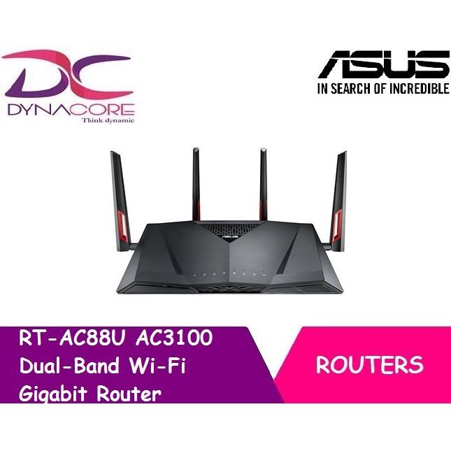 Asus Rt Ac88U Wireless Ac3100 Dual Band Gigabit Router Compare Prices