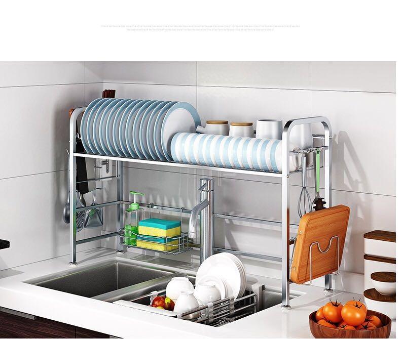 Kitchen Shelf Rack Singapore: 4 Tier Storage Trolley/Storage Rack Suitable For Kitchen
