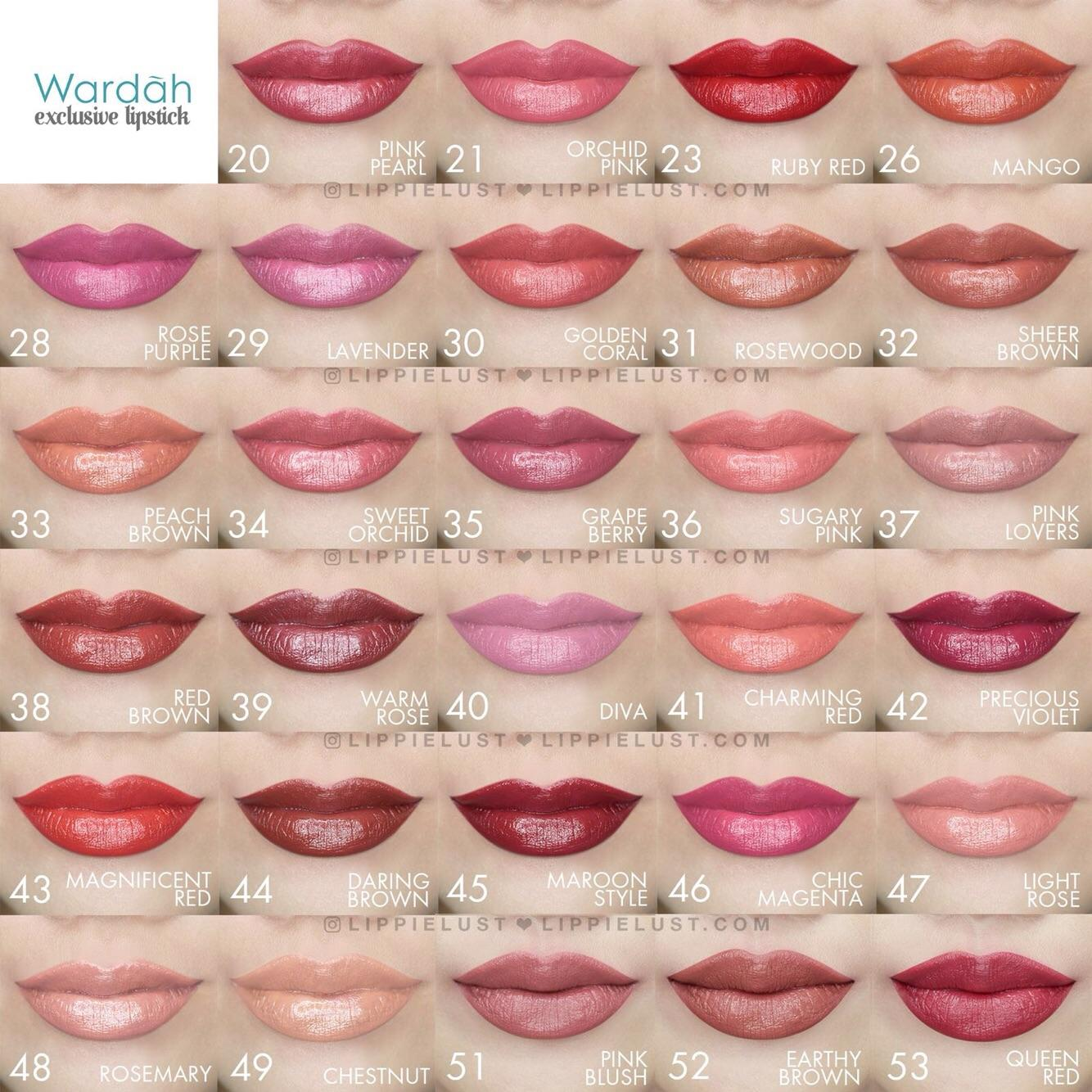Wardah Exclusive Lipstick 2
