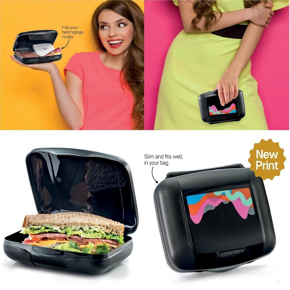 Cheap Slim Lunch Clutch Box ★ Sg Seller ★Authentic Tupperware Water Bottles ★Bpa Free Tumbler ★Lifetime Warranty★ Online