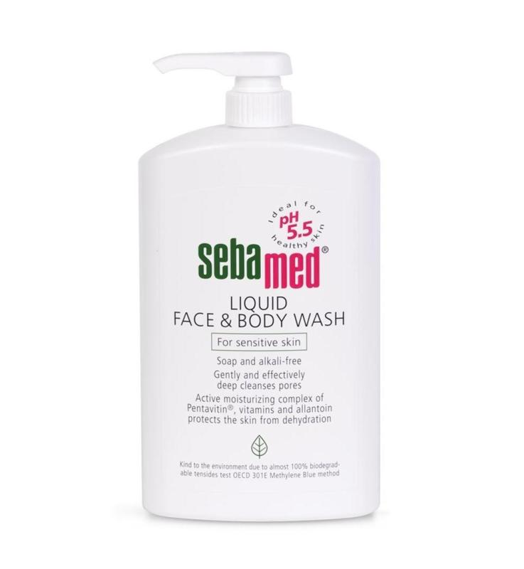 Buy SEBAMED FACE & BODY WASH 1000ML Singapore