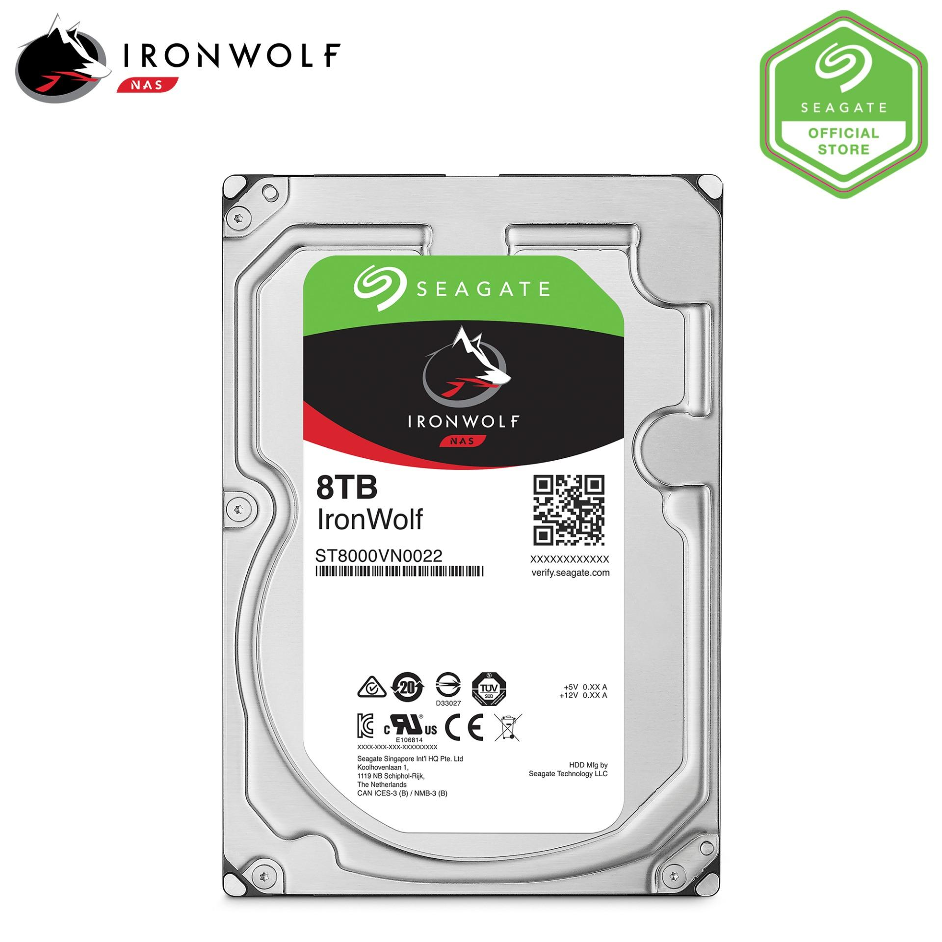 Seagate Ironwolf Nas 8Tb 3 5 Hard Disk For Sale