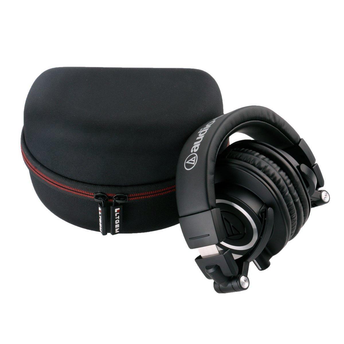 Ltgem Portable Hard Eva Storage Carrying Case For Audio Technica Ath M40x Monitoring Headphone 61brdrvactl