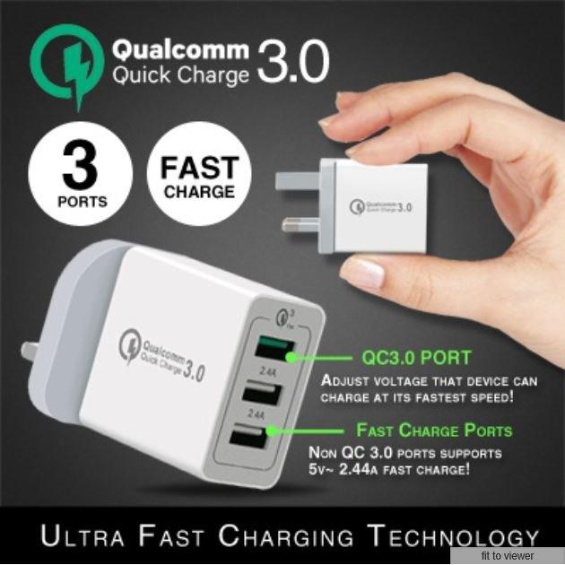 Shop For ★Singapore★Qualcomm Quick Charge 3 0★ Ultra Fast Charger★