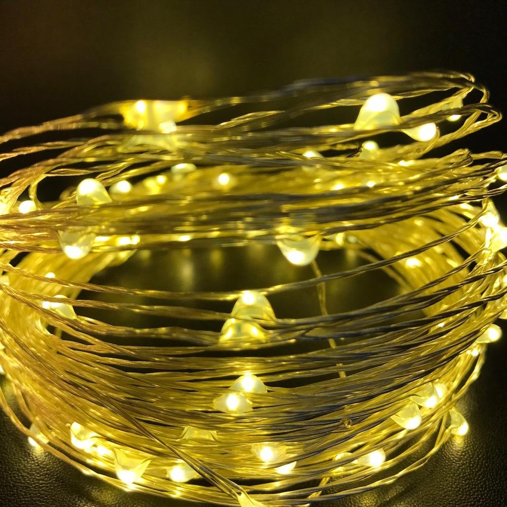 Best Deal 15 Meter 100 Led Usb Copper Silver Wire Fairy Lights Warm White