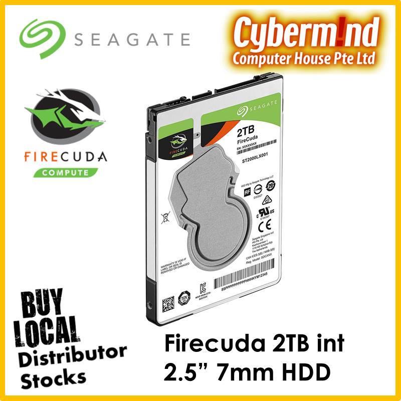 Discount Seagate 2Tb Firecuda Internal 2 5 Sata3 Hdd Singapore