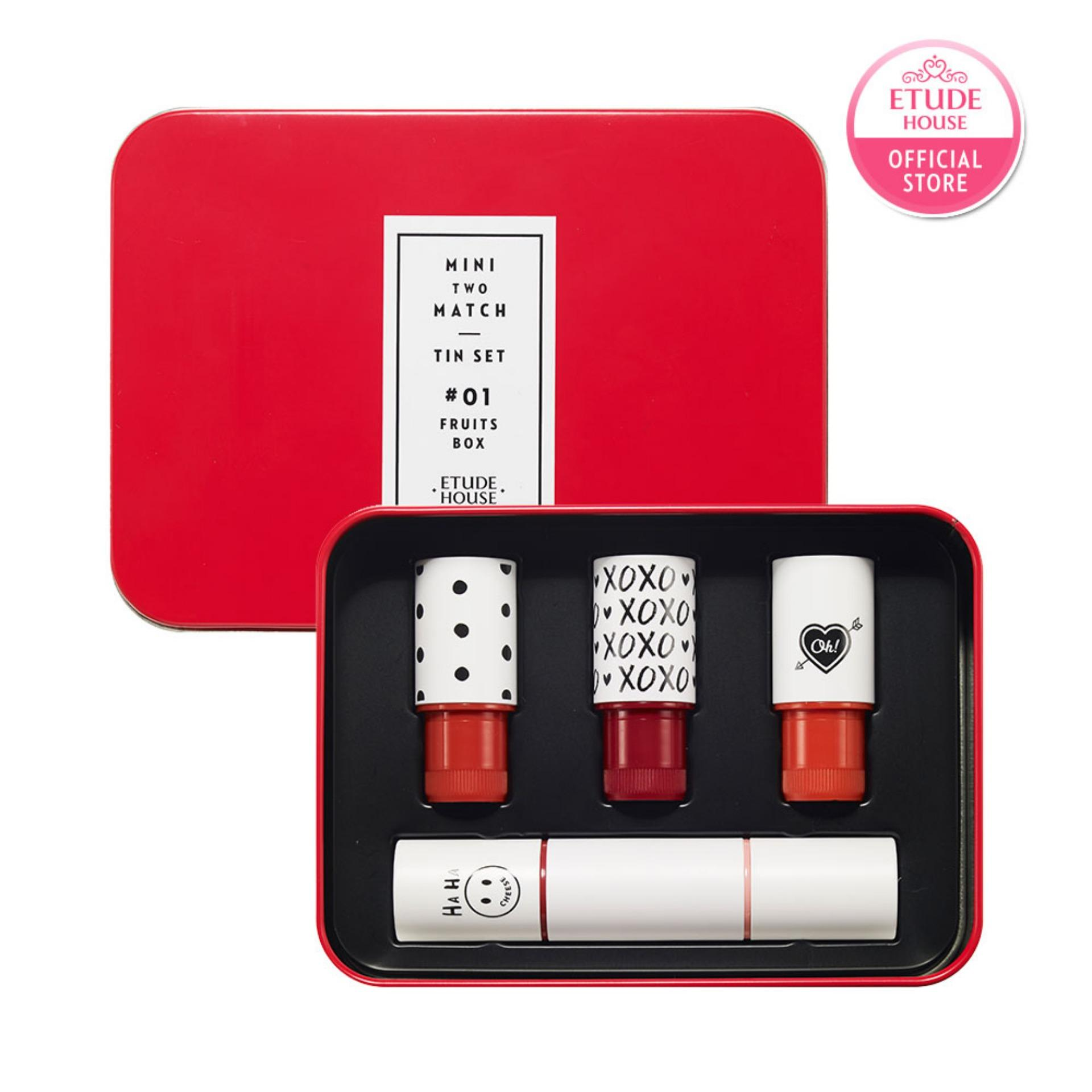 Buy Etude House Mini Two Match Tin Set 01 Fruits Box Etude House Online