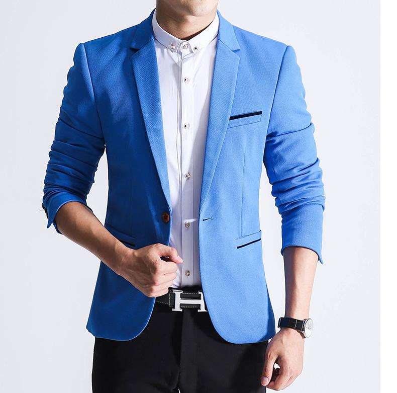 How To Get Korean Style Spring Male Slim Fit Blazer