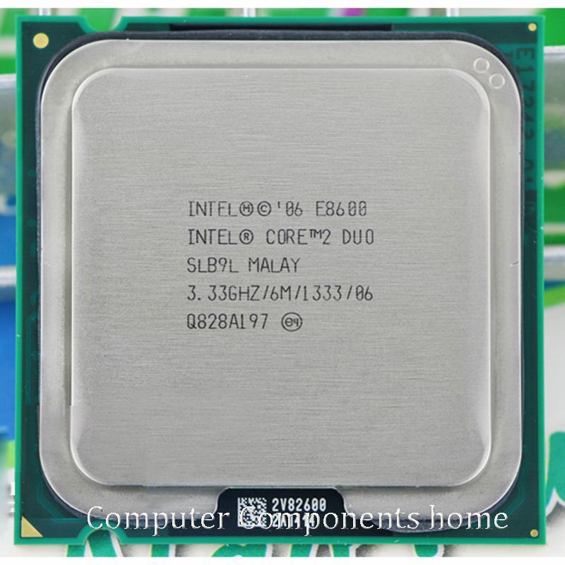 Asli Intel Core 2 Duo E8600 Stopkontak LGA 775 Prosesor CPU (3.33 GHz/6 M/1333 GHz) cocok dengan G31 G41 Papan Utama-Intl