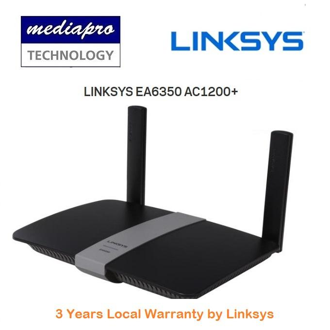 Recent Linksys Ea6350 Ac1200 Dual Band Smart Wi Fi Gigabit Router