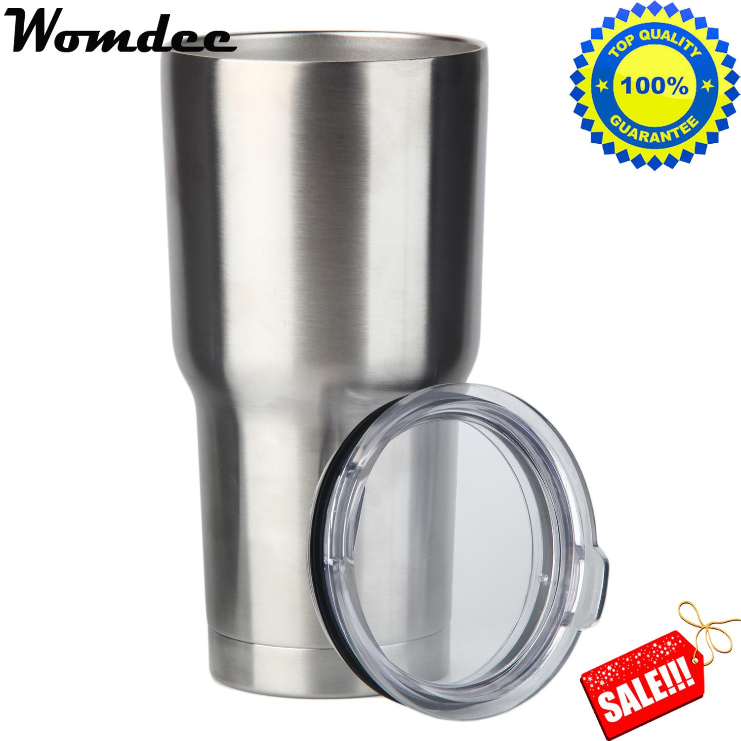 Womdee 30Oz Stainless Steel Tumbler With Lid Vacuum Insulated Tumblers Coffee Cup Double Wall Travel Mug Intl Womdee Discount