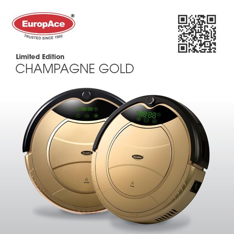 ERV 3031T Robotic Vacuum Cleaner (Wet and Dry) - LIMITED EDITION - CHAMPAGNE GOLD Singapore