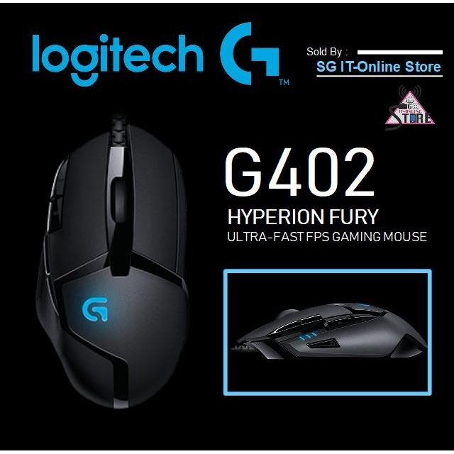 Discount Logitech G402 Hyperion Fury Ultra Fast Fps Gaming Mouse