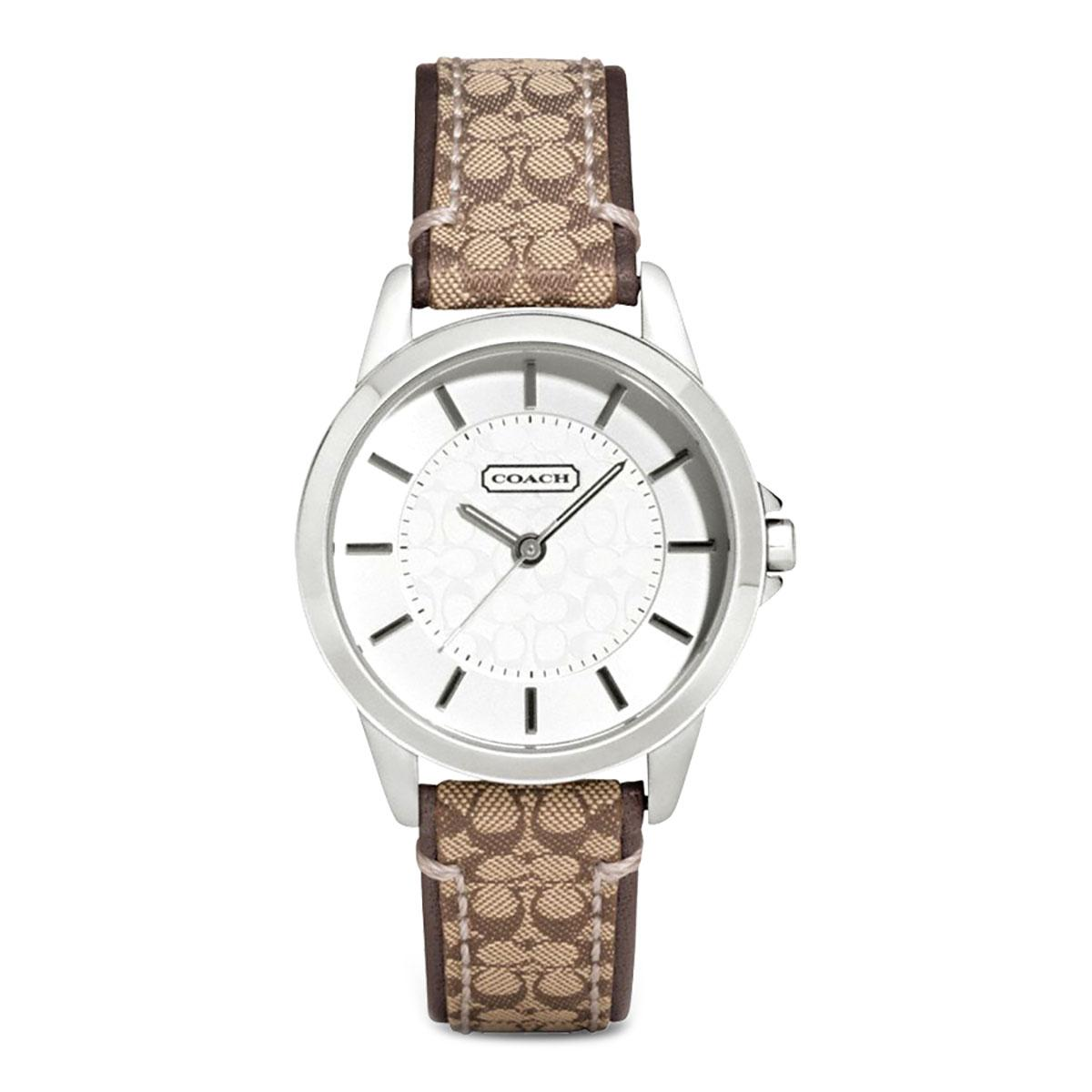 Top 10 Coach Watch Classic Signature Brown Stainless Steel Case Leather Strap Ladies 14501525