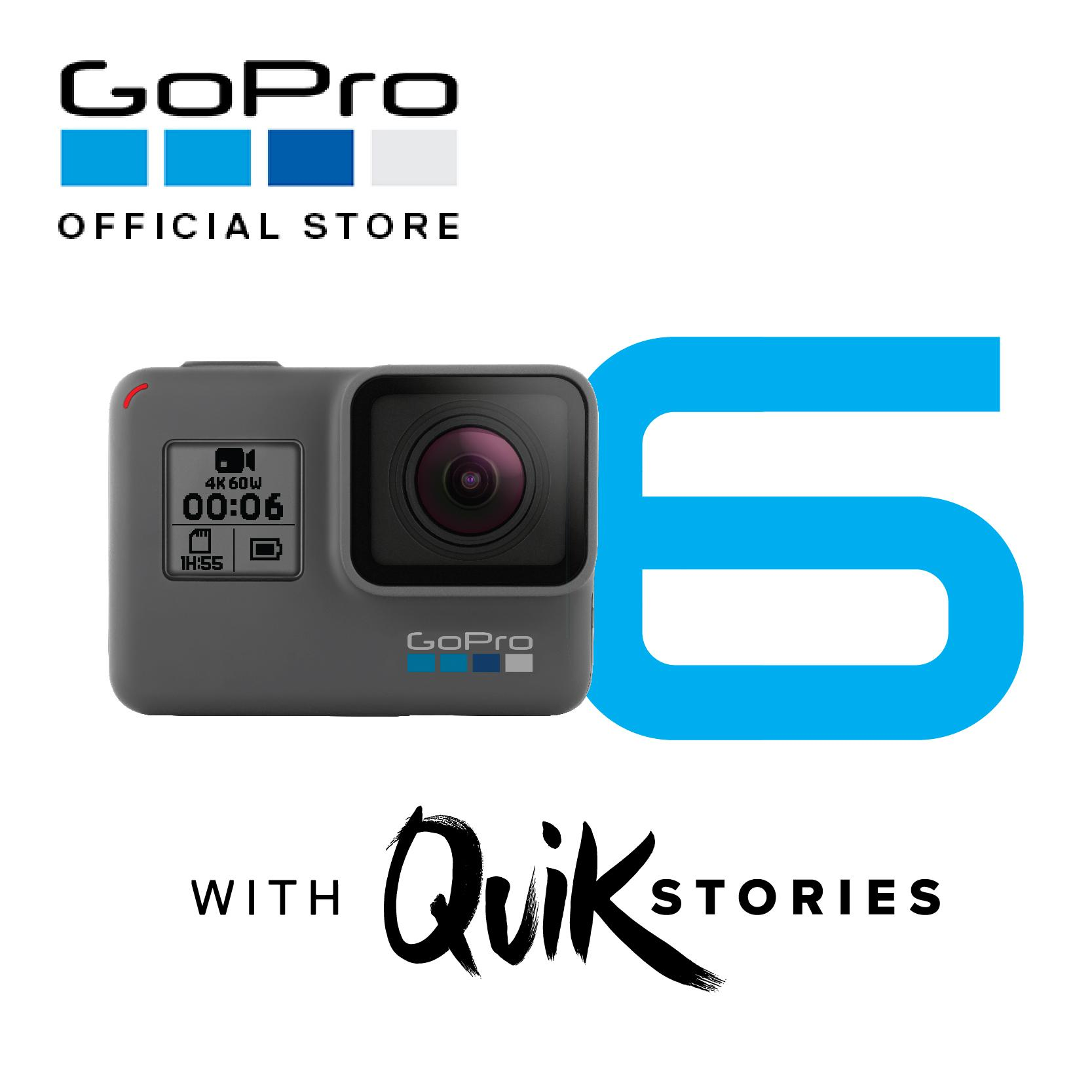 Price Compare Gopro Hero 6 Black 1Year International And Local Warranty Local Distributor
