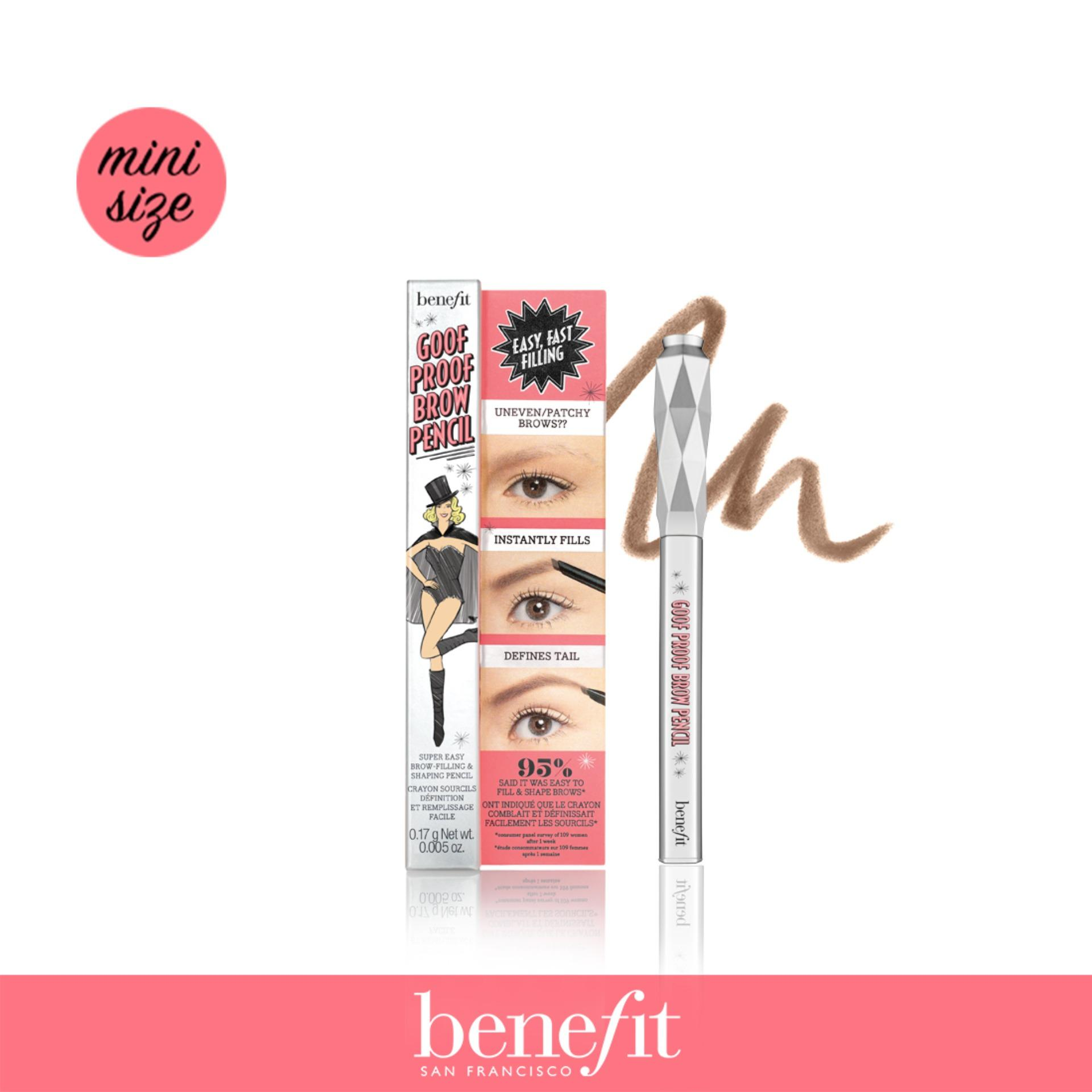 Benefit Goof Proof Eyebrow Pencil Mini Shade 03 Medium For Sale