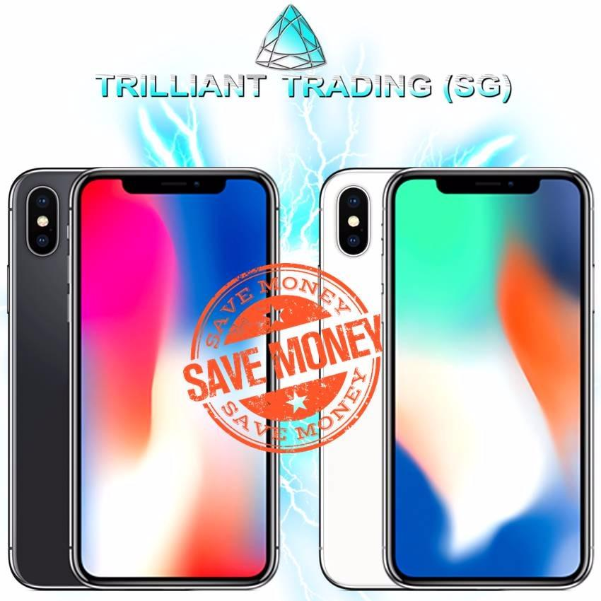 Who Sells The Cheapest Apple Iphone X 256Gb Space Grey Silver Local Sg Set With Free Tempered Glass Quality Case Online