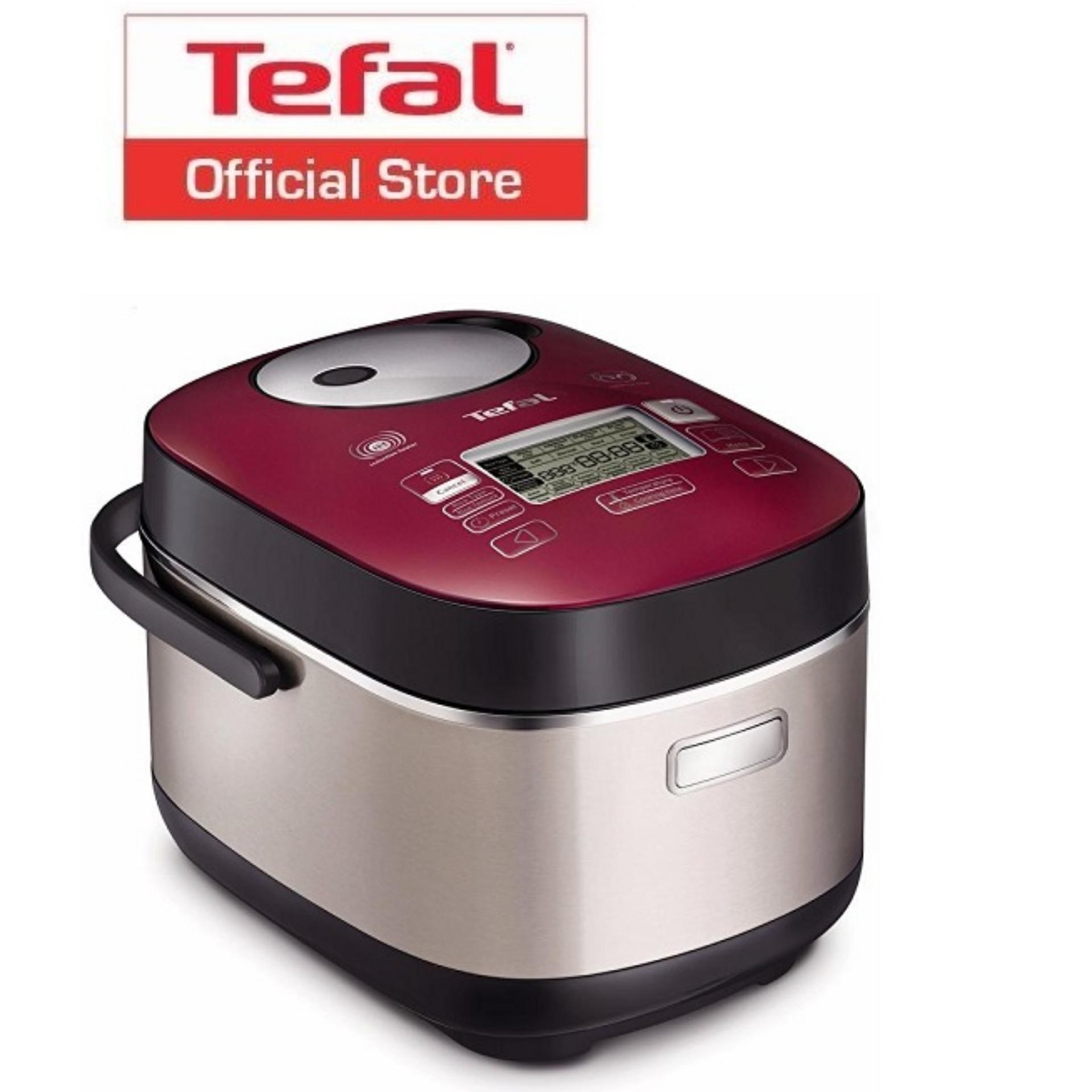 Buy Tefal Pro 48 Program Fuzzy Logic 3 D Induction Spherical Pot Rice Cooker 1 8L Rk8055 Tefal