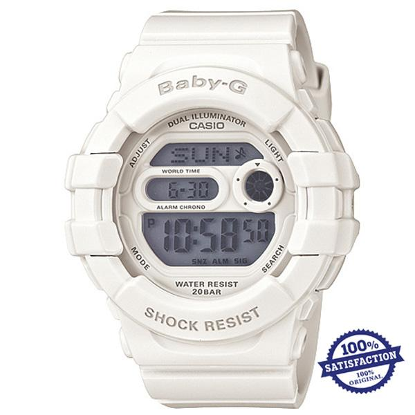 Who Sells Casio Baby G Women S White Resin Band Watch Bgd 140 7A Export Cheap