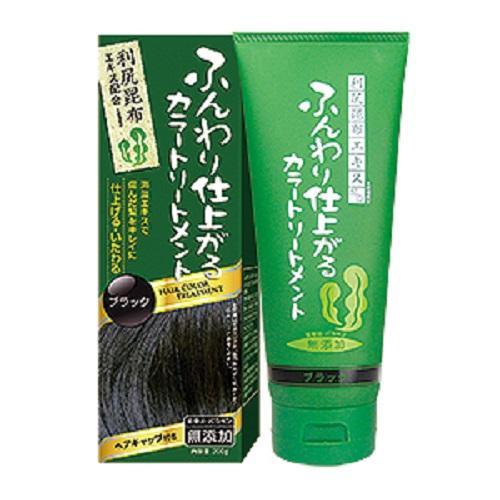 Japan Rishiri Natural Kelp Hair Colour Treatment Dark Brown Best Buy