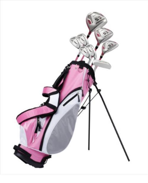 Womens petite golf club set, home and away girls mude