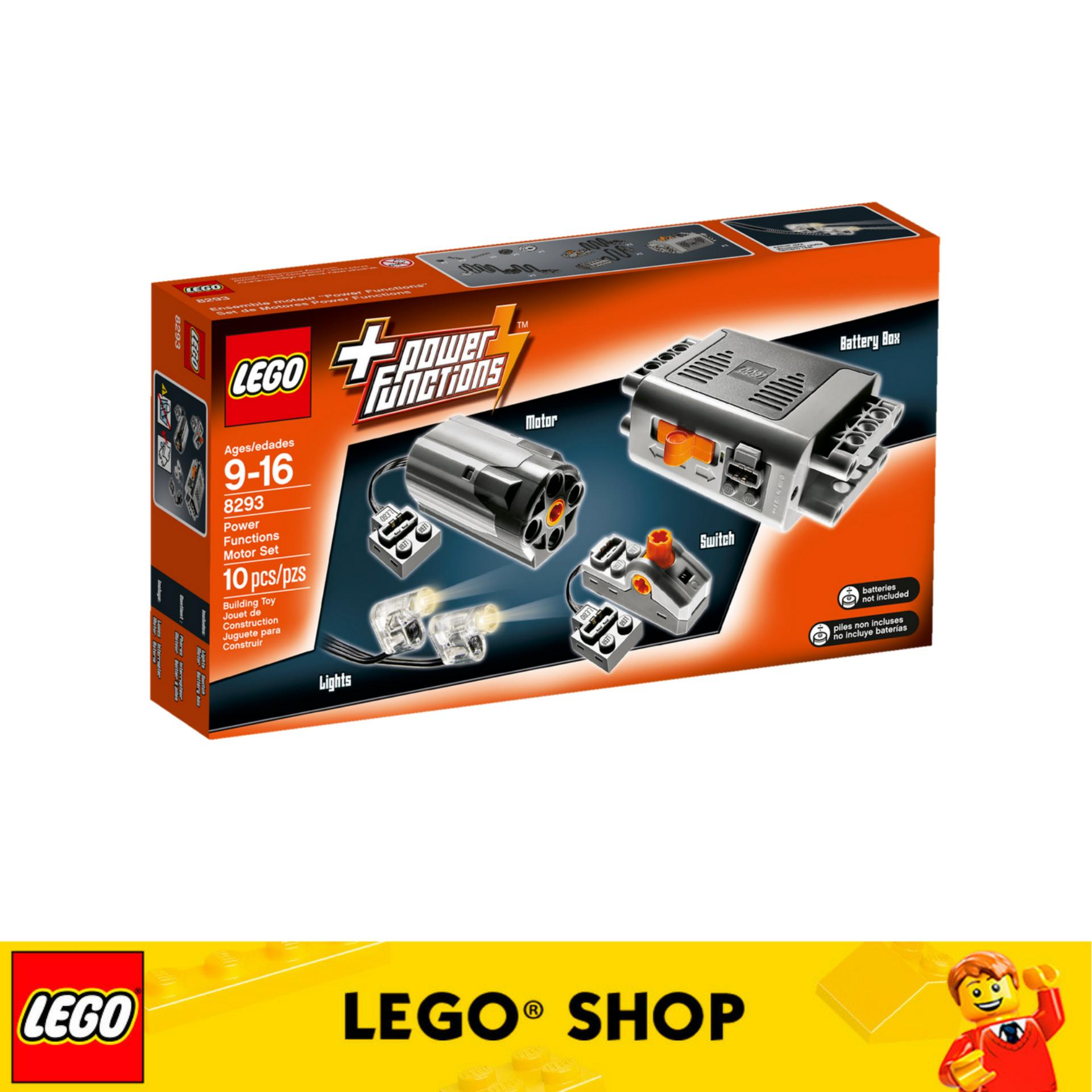 How To Get Lego® Technic Power Functions Motor Set 8293