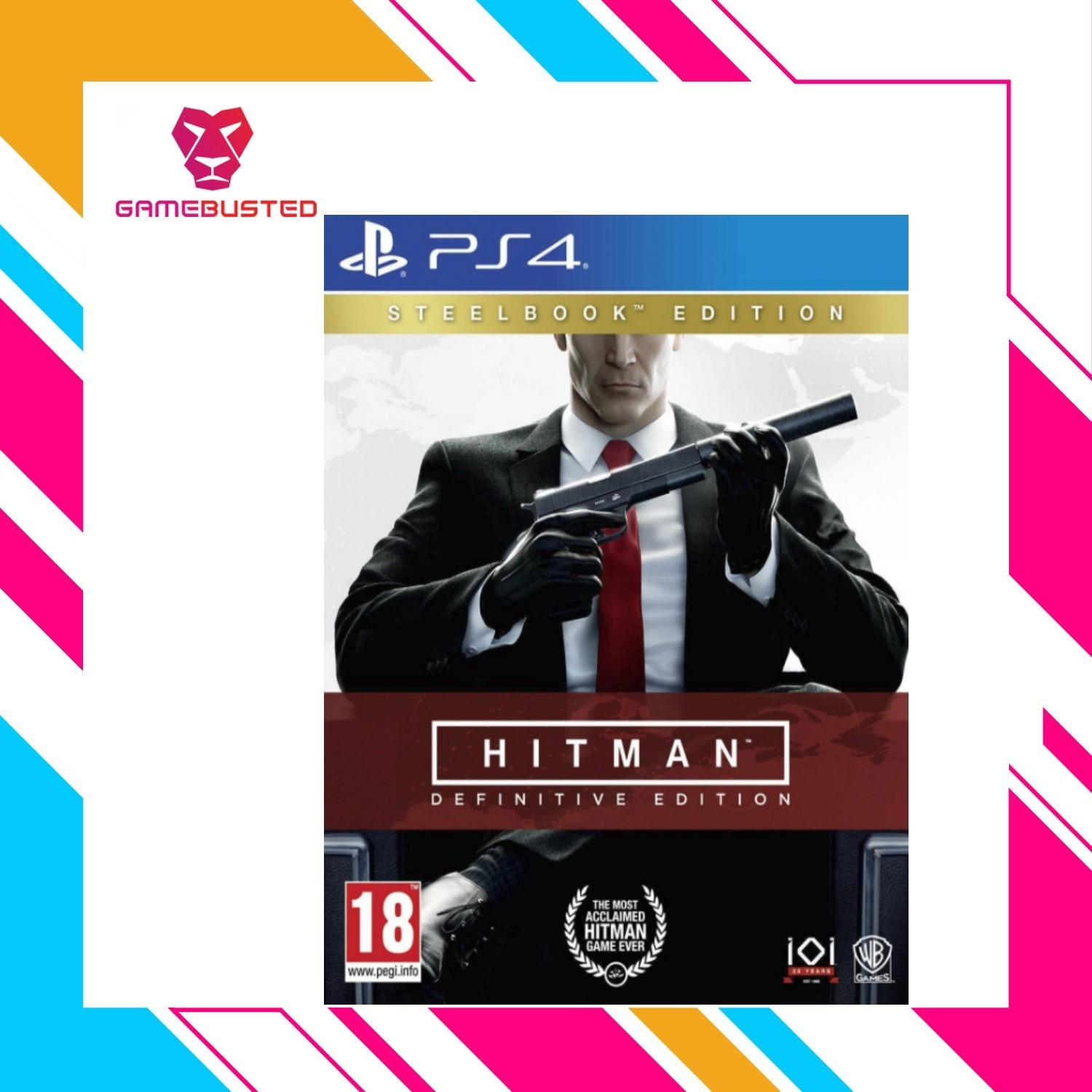 Check For Price Of Ps4 Nba 2k18 Legend Edition As R3 Update Sony Playstation Injustice 2 Hitman Definitive Steel Book