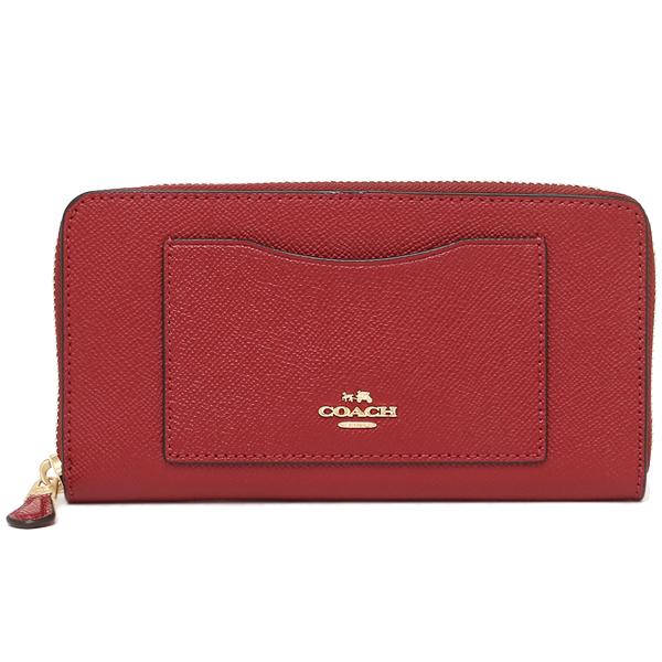 Coach Accordion Zip Wallet In Crossgrain Leather Singapore