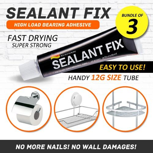 Compare Price Sealant Fix Nail Free Era No More Wall Damages Adhesive Glue High Weight Bearing Load Bearing Afte Ooem On Singapore