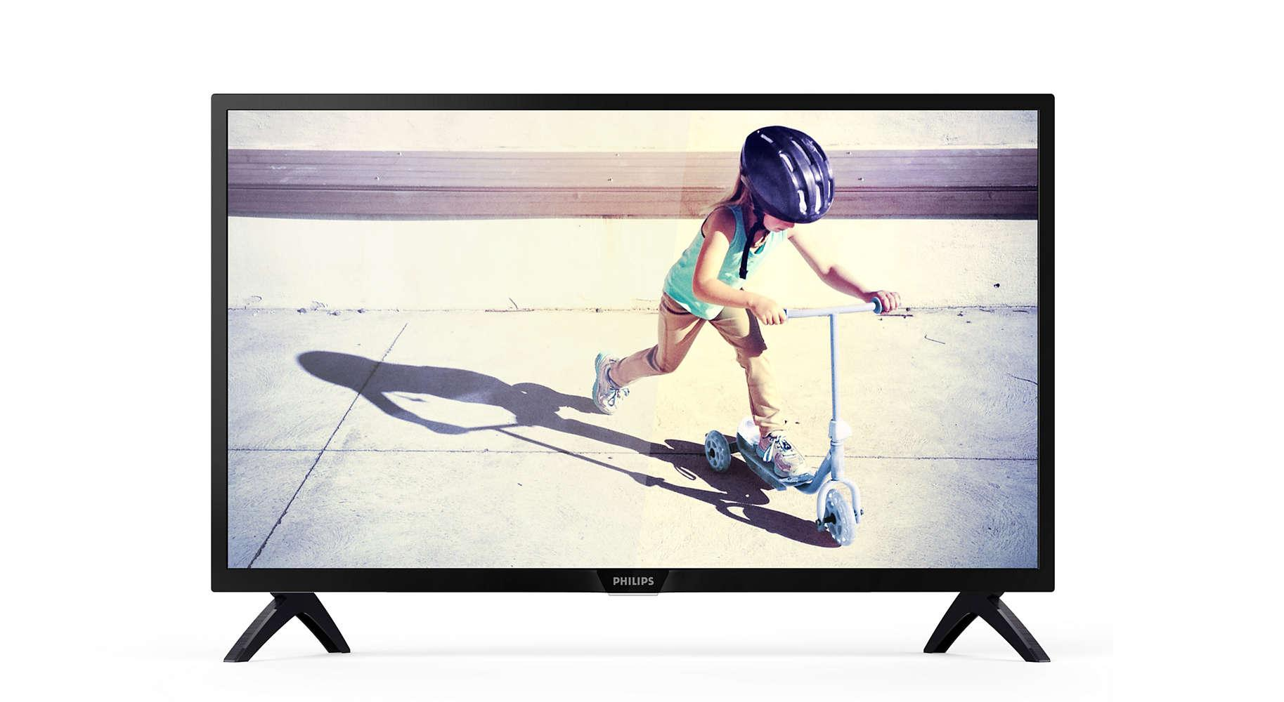 Discounted Philips 43Pft5102 43 Full Hd Ultra Slim Led Smart Tv W Pixel Plus Hd 2 X Hdmi 2 X Usb Inputs