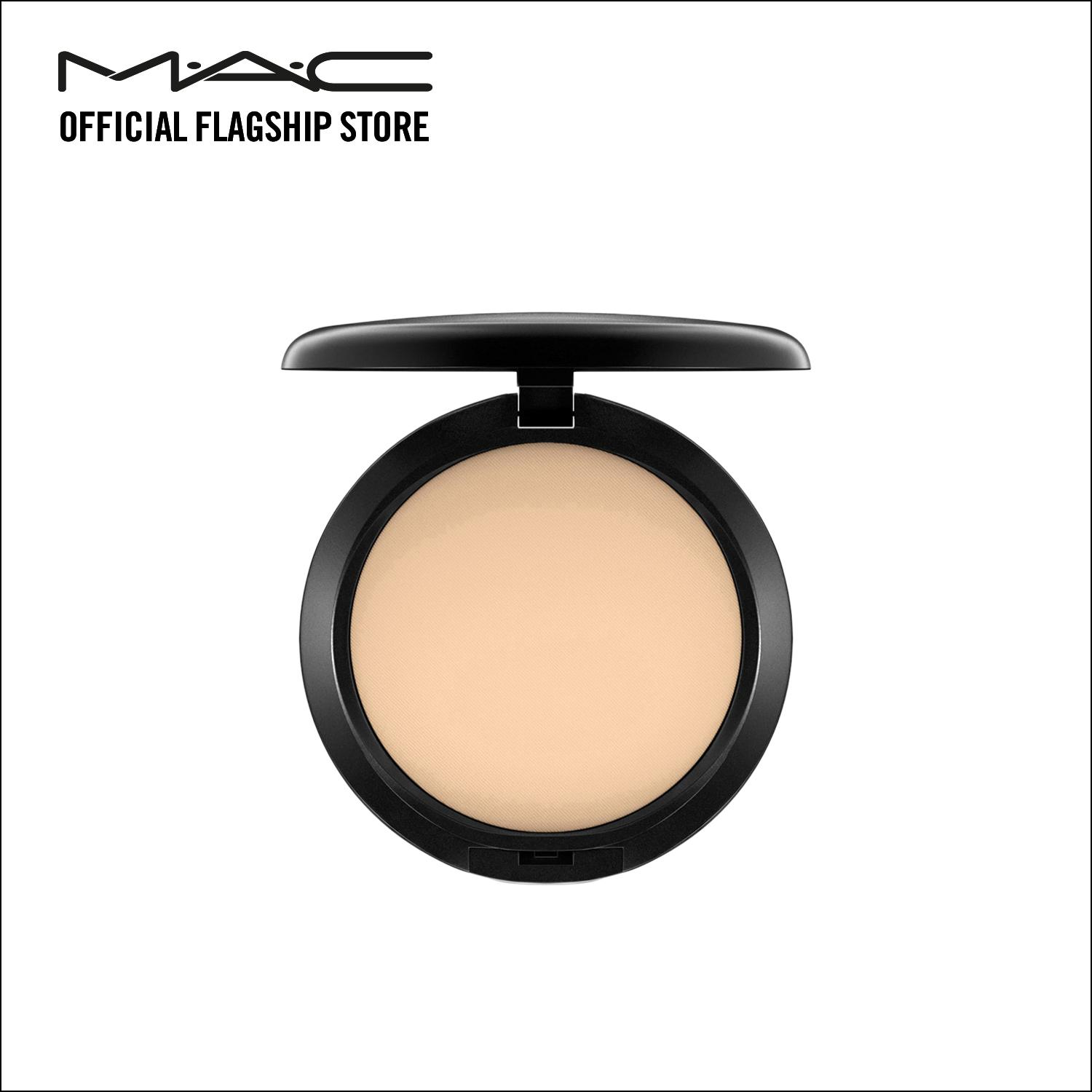 Review Mac Studio Fix Powder Plus Foundation C2 Mac