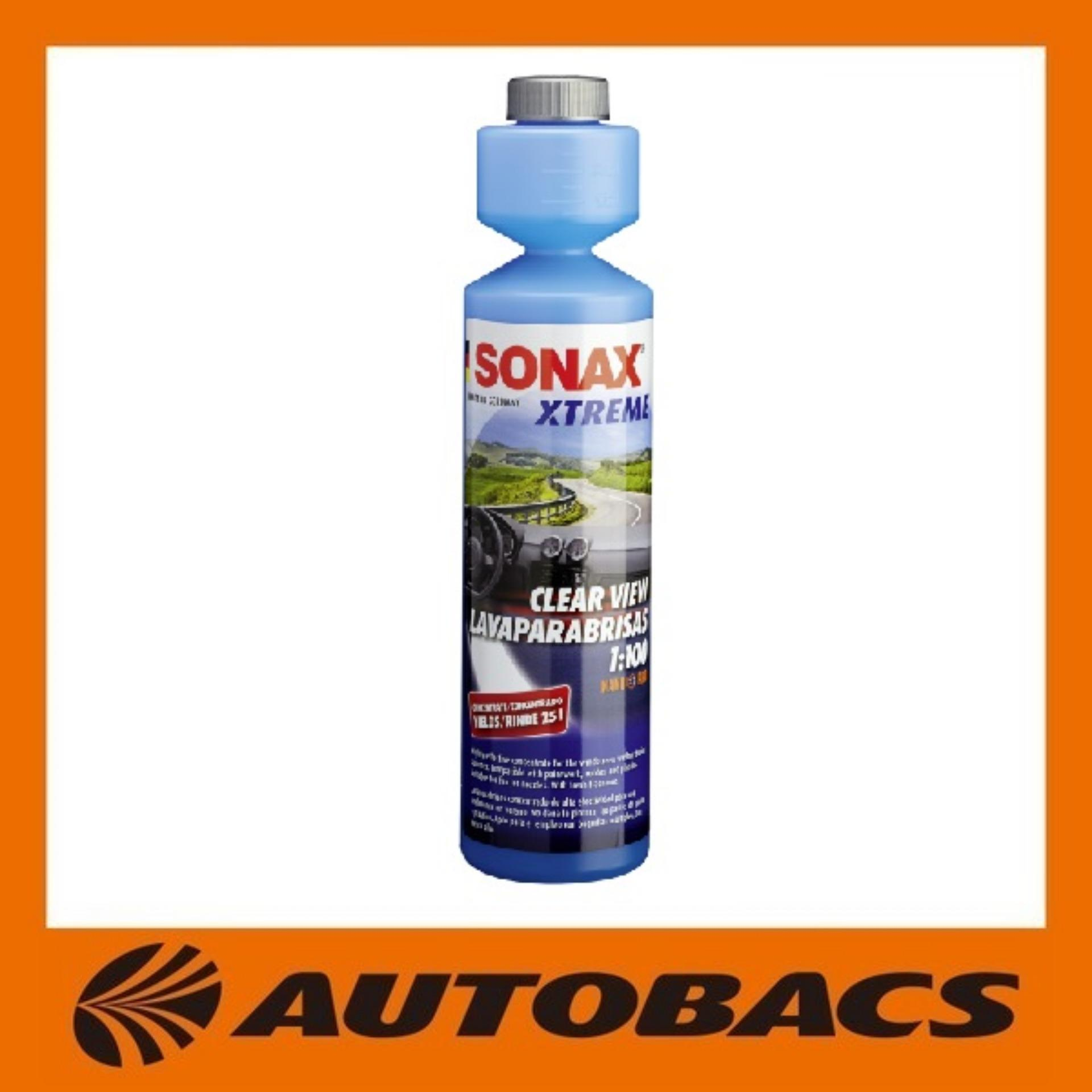 Price Sonax Clear View 1 100 250Ml On Singapore
