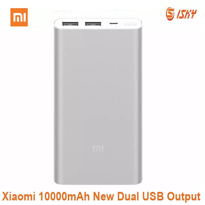 Sale Xiaomi Mi Power Banks 2 10000Mah Dual Usb Newest Version Xiaomi Online
