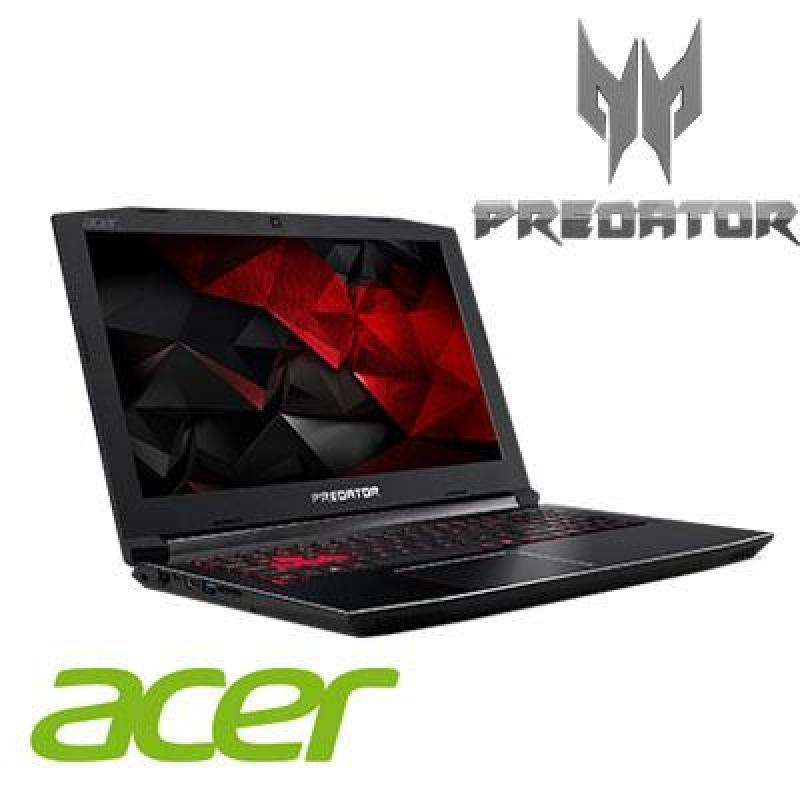 Acer Predator Helios 300 (G3-572-75XX) Intel i7-7700HQ/16GB Ram / 256GB PCIe SSD + 1TB HDD / 6GB NVIDIA GTX1060 DDR5 /15.6FHD IPS LED LCD / WIN 10 HOME