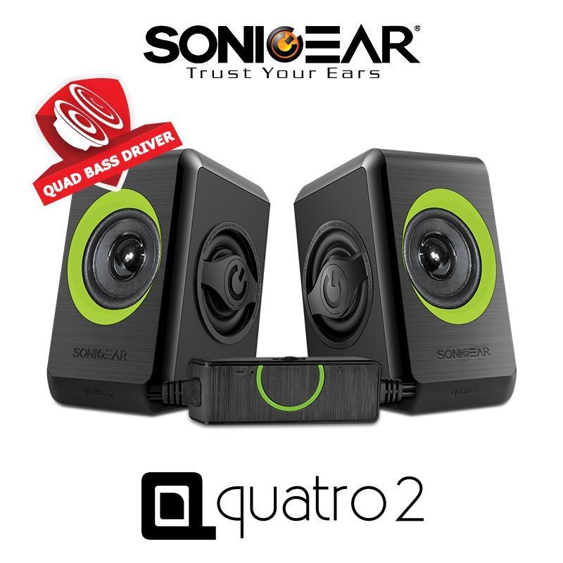 Price Comparison For Sonicgear 2 Speaker Quatro 2 Green